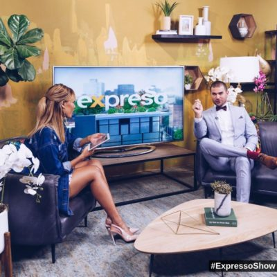 Expresso Morning live interviewed our MC, Dene Botha a few times to cover our #SEW2018 Roadshow visits.