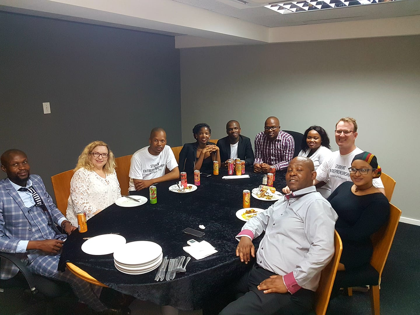 What a team at University of Fort Hare! Today is the start of an entrepreneurship movement at this university, under the leadership of Institutional Advancement and amazing student leaders. Watch this space! #SEW2018