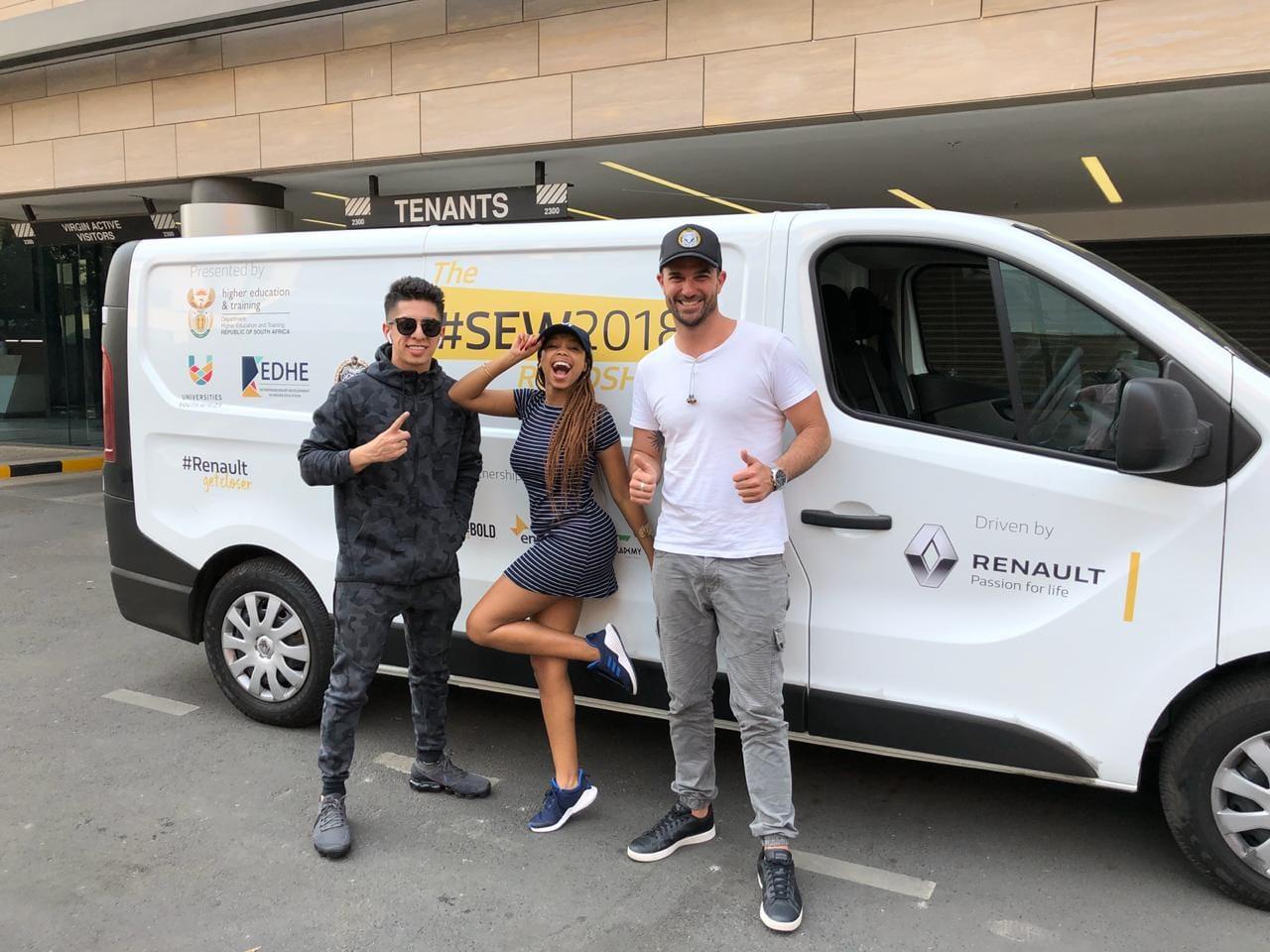Renault South Africa sponsoring the EDHE Student Entrepreneurship program in support of entrepreneurship.