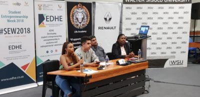 Q&A session: Walter Sisulu University Butterworth Campus