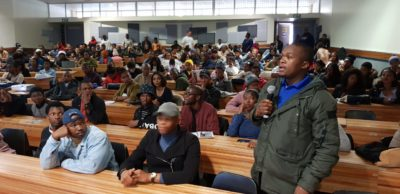 Questions from entrepreneurs at Walter Sisulu University Butterworth Campus