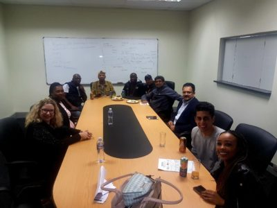 The management behind the scenes that made the Walter Sisulu University- Butterworth campus roadshow visit a success.